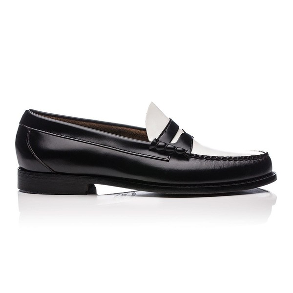 bass black loafers