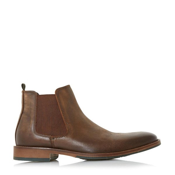 Conor Leather Chelsea Boots by Dune