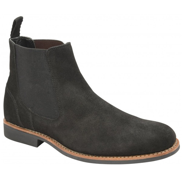 1f2fcd7e813 Hopper Suede Chelsea Boot by Frank Wright