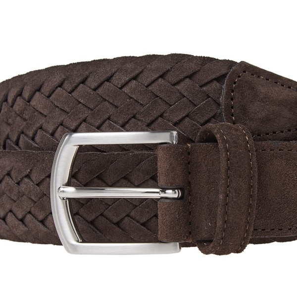 Woven Suede Belt by Anderson's