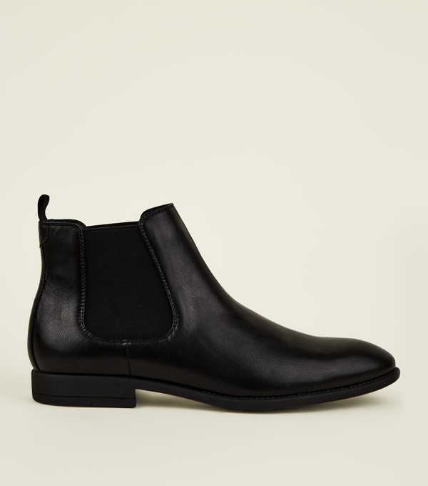 Leather Look Chelsea Boots by New Look