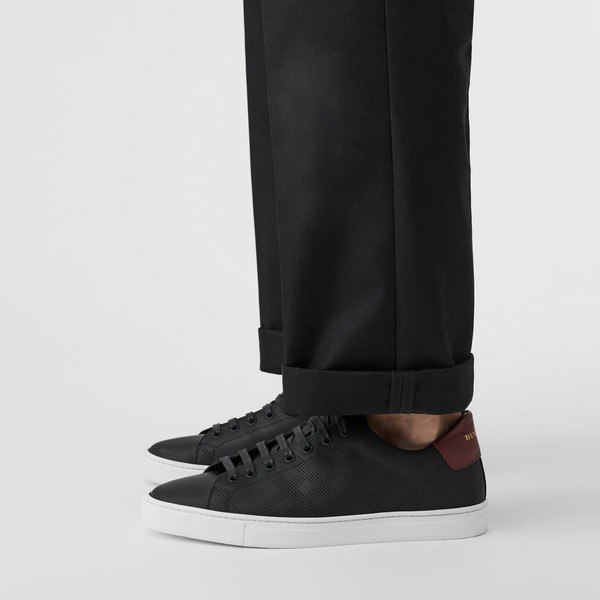 Leather Sneakers by Burberry — Thread
