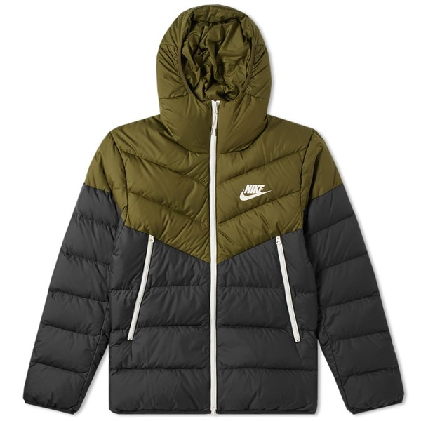 8f725111a Down Filled Hooded Windrunner Jacket by Nike — Thread