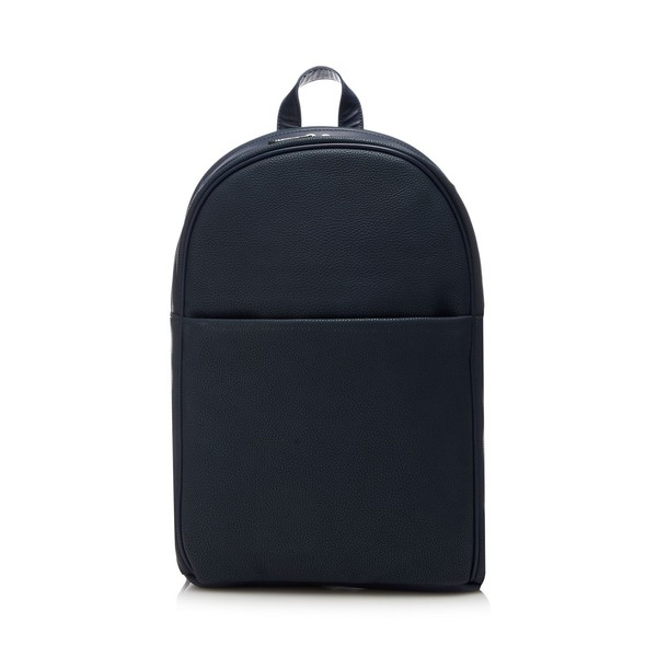 Navy pebbled backpack by J by Jasper Conran 96044295d93dc