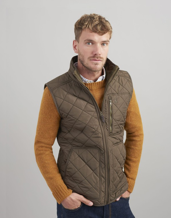 8bd2766f6931 Halesworth Fleece Lined Quilted Gilet by ... — Thread