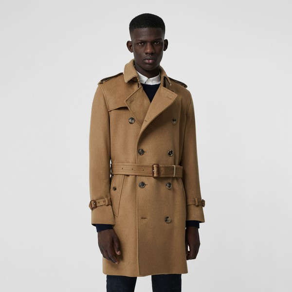 Cashmere Trench Coat by Burberry </div>                                   </div> </div>       </div>         <div style=
