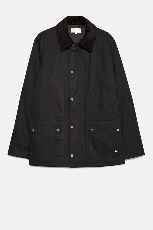 c1b19ca87 LINDELL WAXED FIELD JACKET by Jack Wills