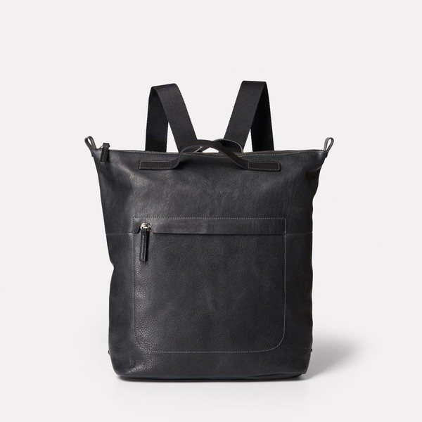 9a0e876336f Hoy Mini Leather Backpack in Black by Ally Capellino