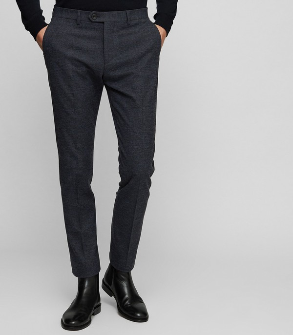 8a51e9d7bb7e Haven Slim Fit Checked Trousers by Reiss — Thread