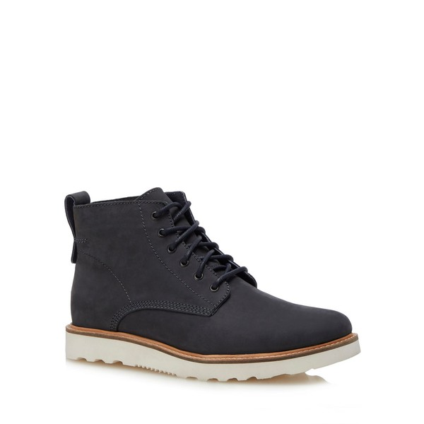 1da11a865e17d Navy nubuck 'Meteor' lace up boots by Red... — Thread