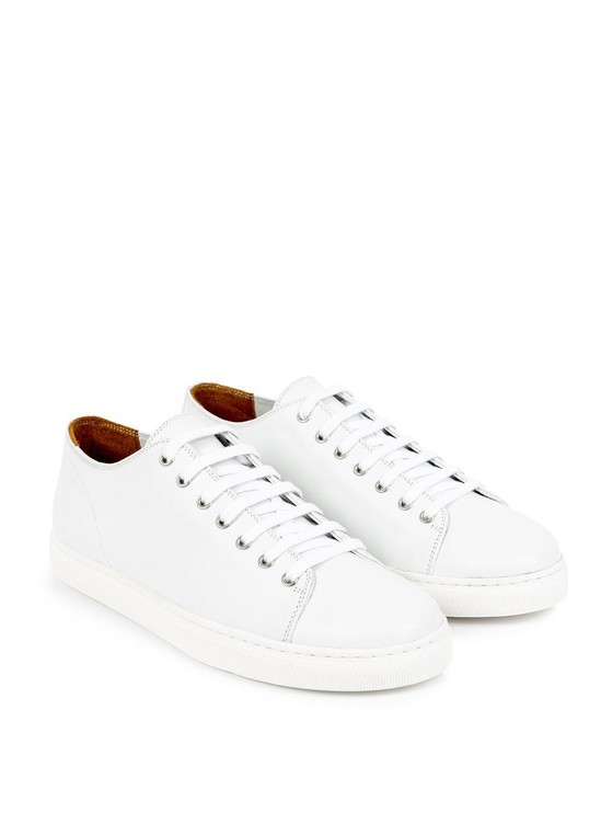 Leather Tennis Shoes by Sunspel — Thread