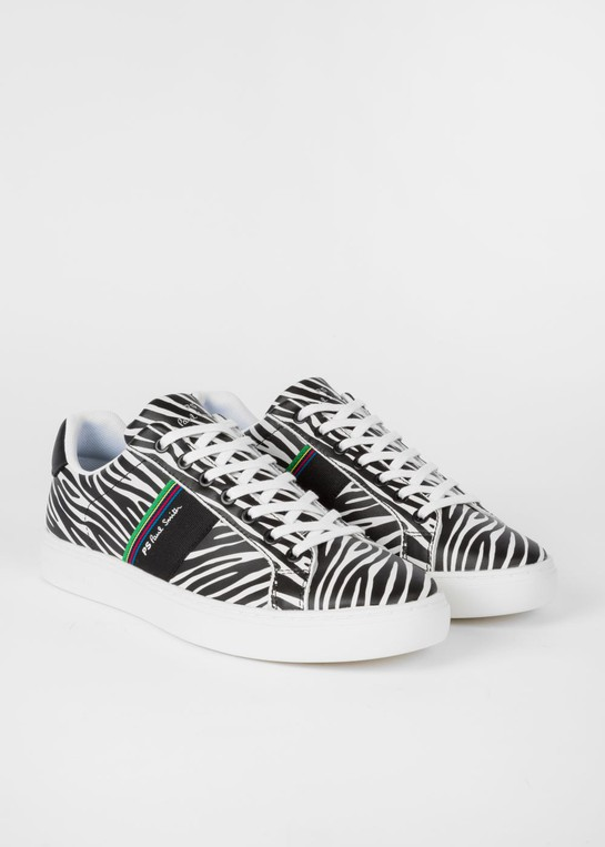 Rex' Leather Trainers by PS Paul Smith