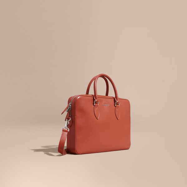 dad08e865a77 London Leather Briefcase by Burberry — Thread