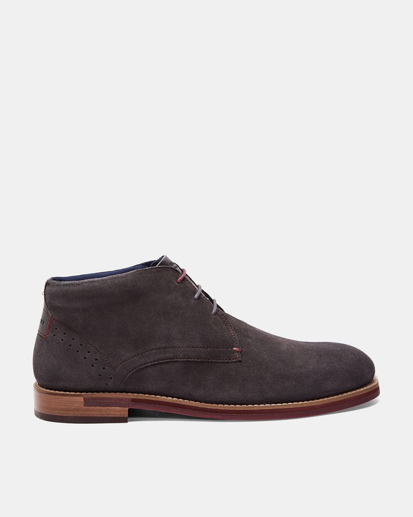 DAIINOS Suede desert boots by Ted Baker