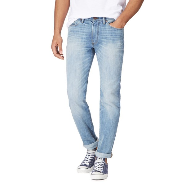 099df2dfcac Blue light wash slim fit jeans by Racing ... — Thread