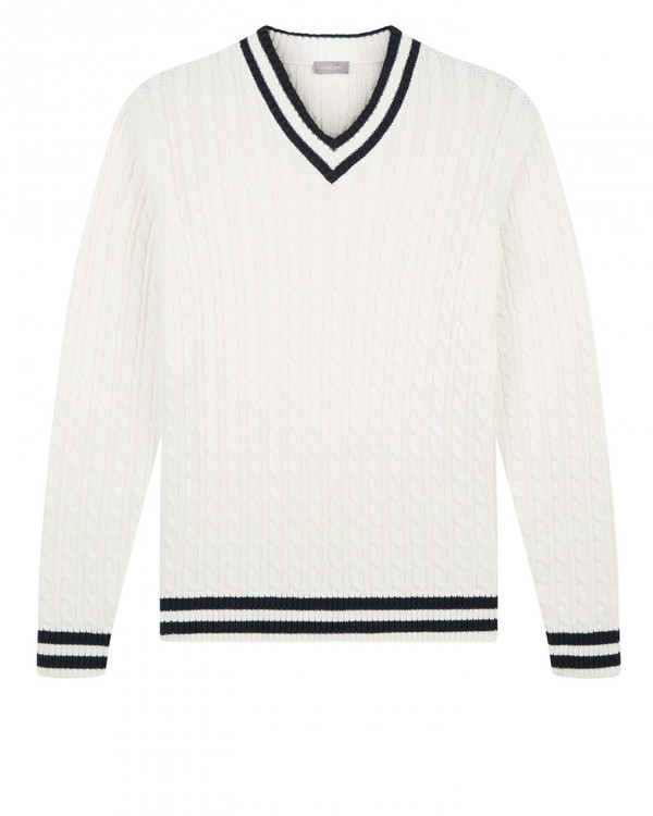 Cotton Cricket Jumper By Jaeger Thread