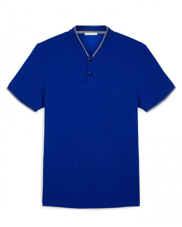 Baseball Collar T Shirt With Tipping By Austin Reed Thread Com