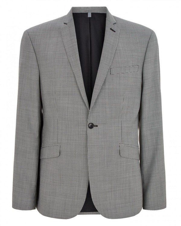 Slim Puppytooth Jacket By Austin Reed Thread Com