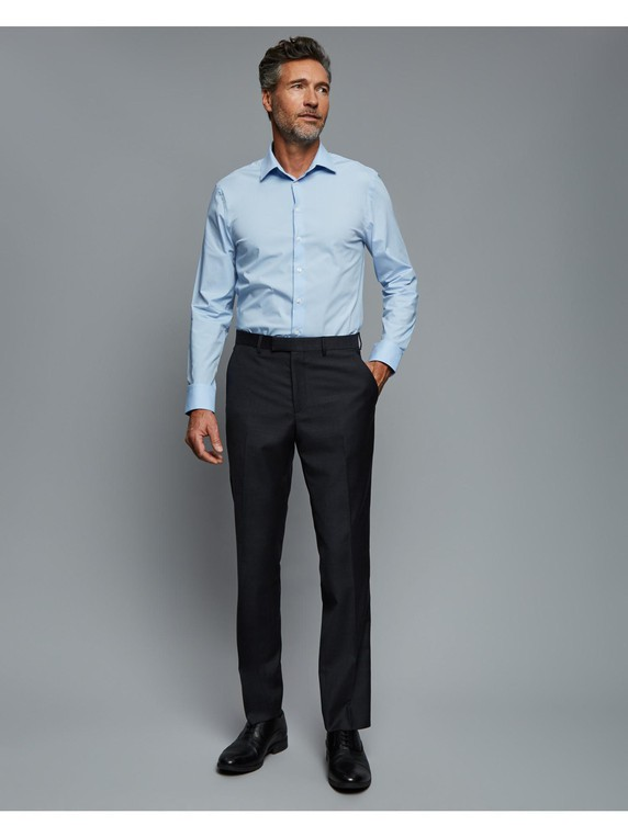 Slim Plain Weave Suit Trouser By Austin Reed Thread