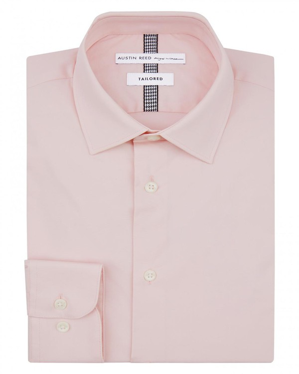 Tailored Stretch Poplin Shirt By Austin Reed Thread
