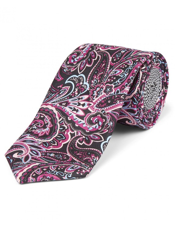 Printed Paisley Tie By Austin Reed Thread Com