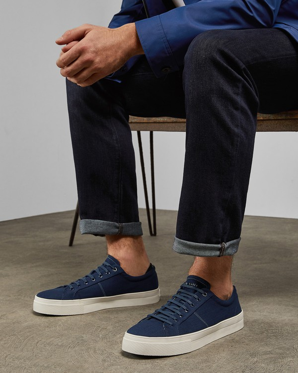 ESHRON Classic plimsoll trainers by Ted