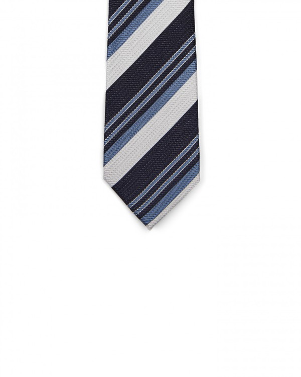 Stripe Tie By Austin Reed Thread