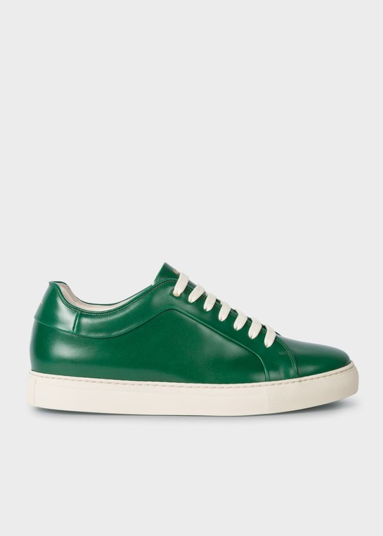 Leather 'Basso' Trainers by Paul Smith