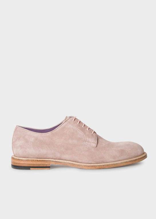 Men's Pastel Pink Suede Leather 'Gale