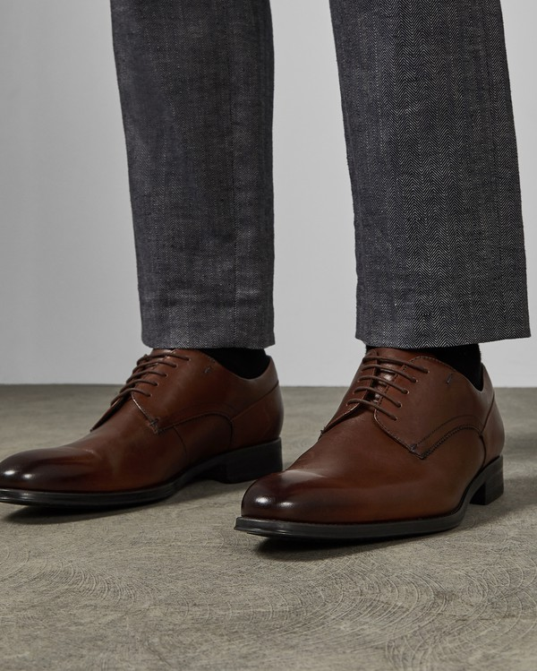 VATORY Leather Derby shoes by Ted Baker