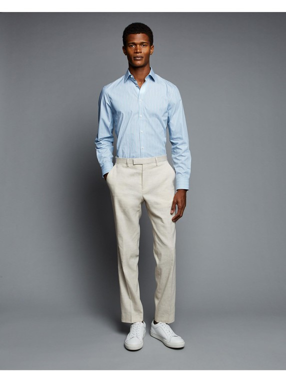 Tailored Bold Stripe Shirt By Austin Reed Thread Com