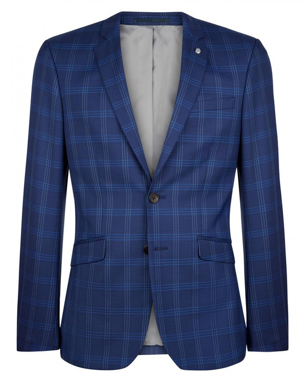 Skinny Check Suit Jacket By Austin Reed Thread Com