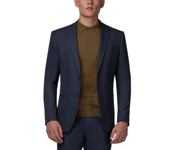 40ed5ccf74a06d Slate blue jaspe slim fit jacket by Red H... — Thread