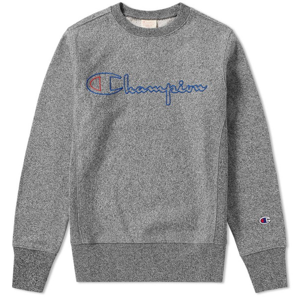 47765c44e Heavy Marl Crew Sweat by Champion Reverse... — Thread