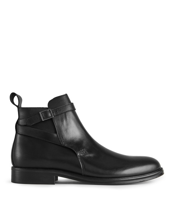 Barnell Leather Jodhpur Boots by Reiss