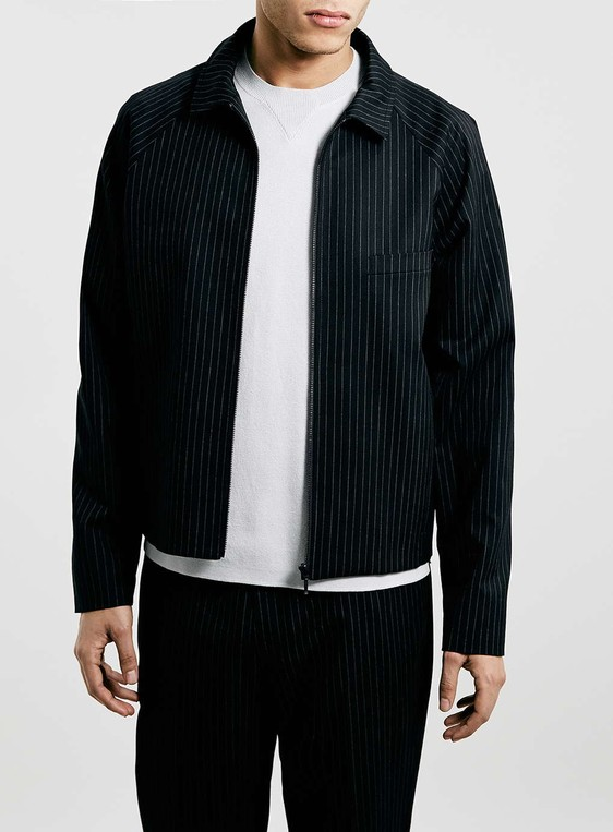 a66c7b25b Lux harrington jacket by Topman