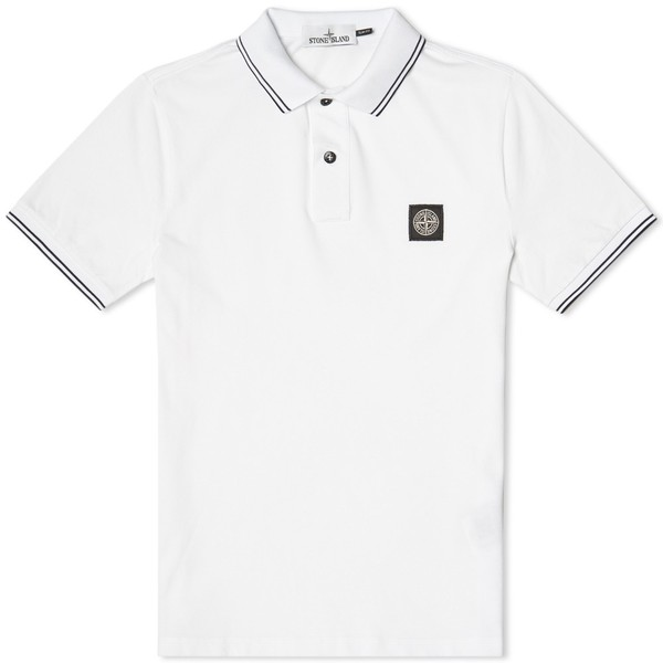 aa365e81 Slim Fit Polo by Stone Island — Thread