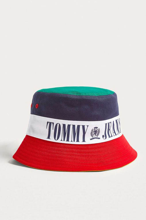 40d6e21b5a6 90s Tricolour Bucket Hat by Tommy Jeans — Thread