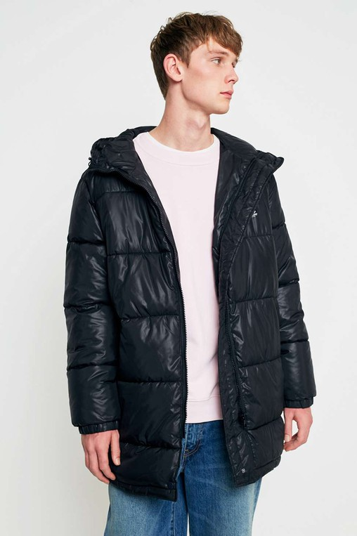 4c4541f83 Cheap Monday Black Cocoon Puffer Jacket by Cheap Monday