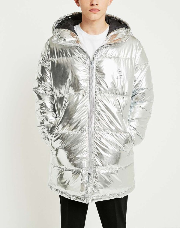 c25c29fd5 Cheap Monday Silver Cocoon Puffer Jacket by Cheap Monday