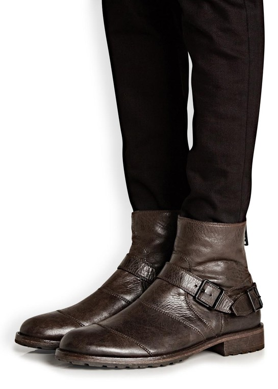 Trialmaster brown leather boots by