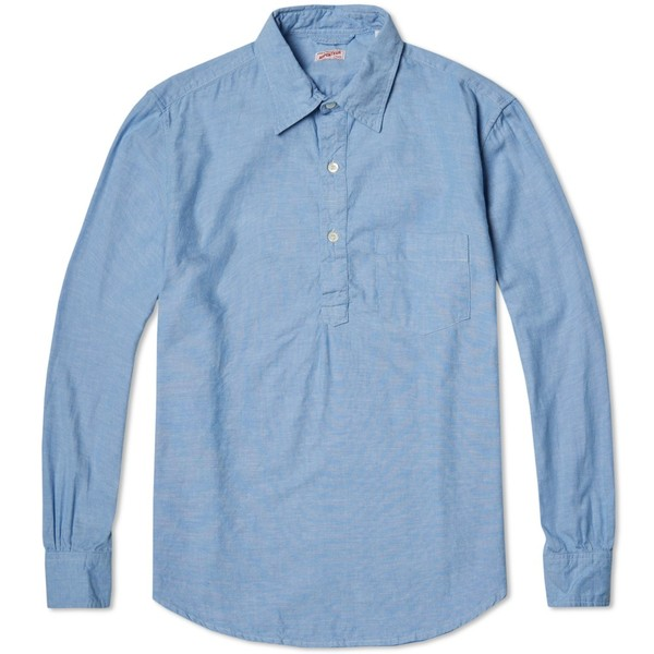 662ba5c55be4 Grand-Pere Popover Shirt by Arpenteur — Thread