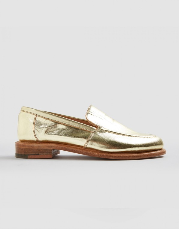 9f16c53a94d Gold loafer (gold) by YMC — Thread