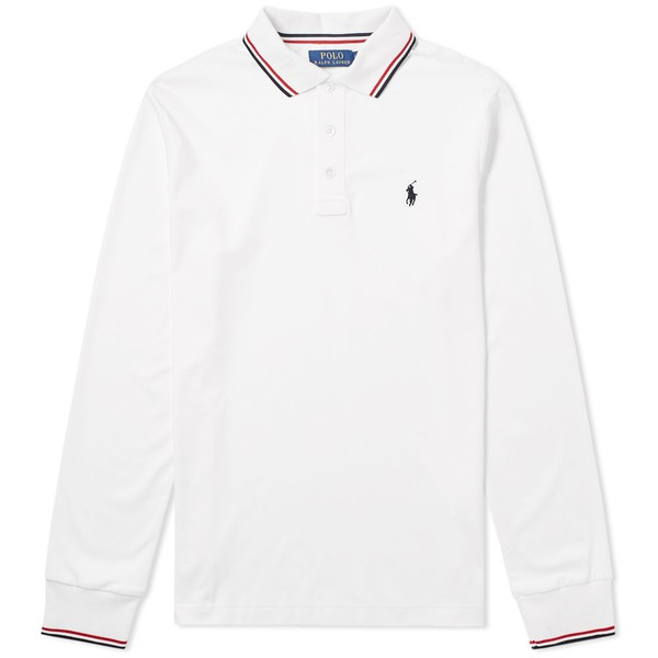 ca081ef3 Long Sleeve RWB Tipped Polo by Polo Ralph... — Thread