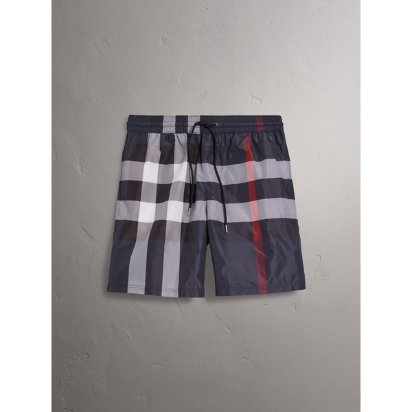 c26d6a3014 Check Drawcord Swim Shorts by Burberry — Thread
