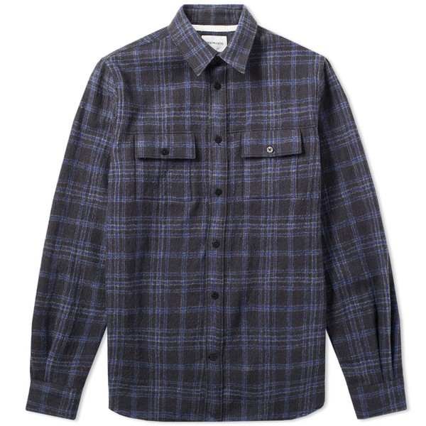 4d81caeec Villads Heavy Brushed Check Shirt by Nors... — Thread
