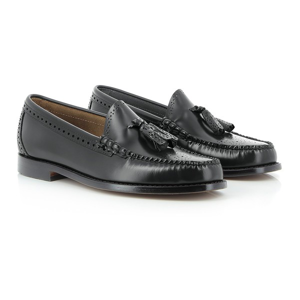 15d4608d3fa Weejuns Larkin Brogue Black Leather by G.H. Bass & Co.