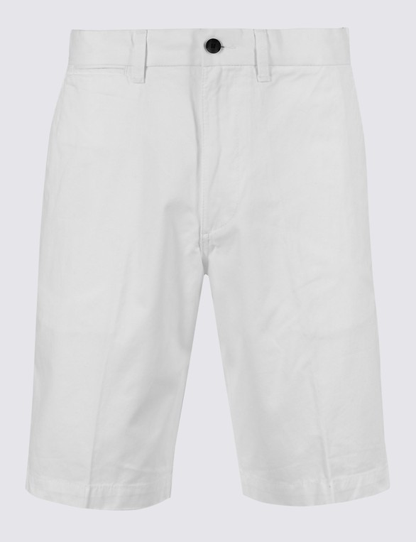 b97ba8f3d8 Pure Cotton Chino Shorts by Marks & Spencer