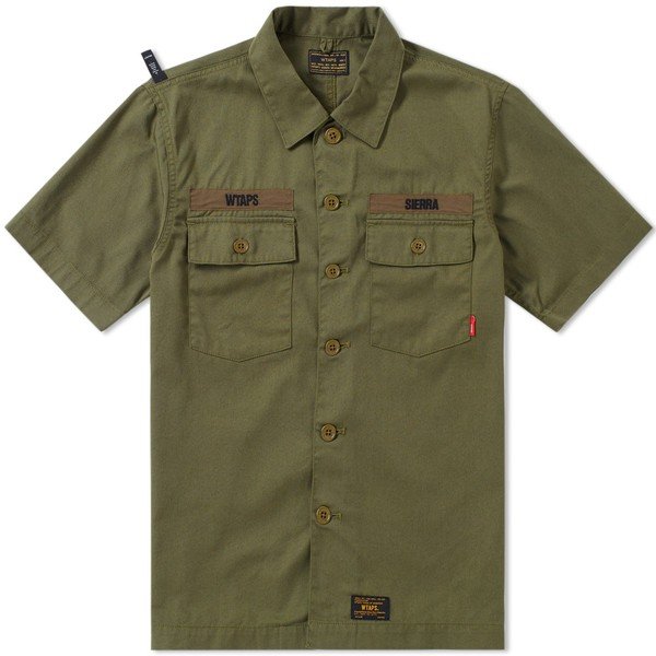 1858f867ab WTAPS Short Sleeve Buds Shirt by WTAPS