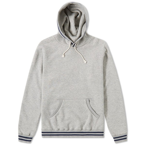 Beams Plus Ribline Popover Hoody by Beams Plus